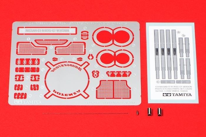GT-R (R35) GT Version PE Parts