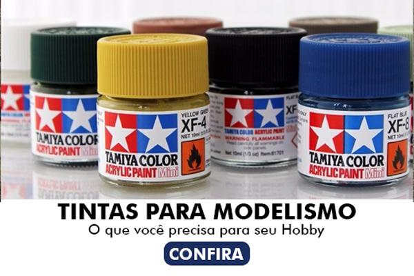 Conjunto Completo De 71 Xf cores Tamiya Tintas Cores